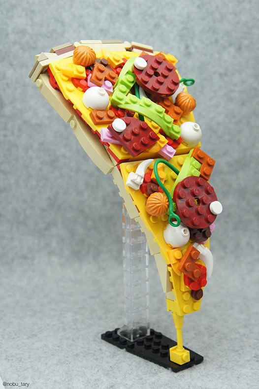 Maestro japones del Lego construye deliciosas creaciones a partir de bloques