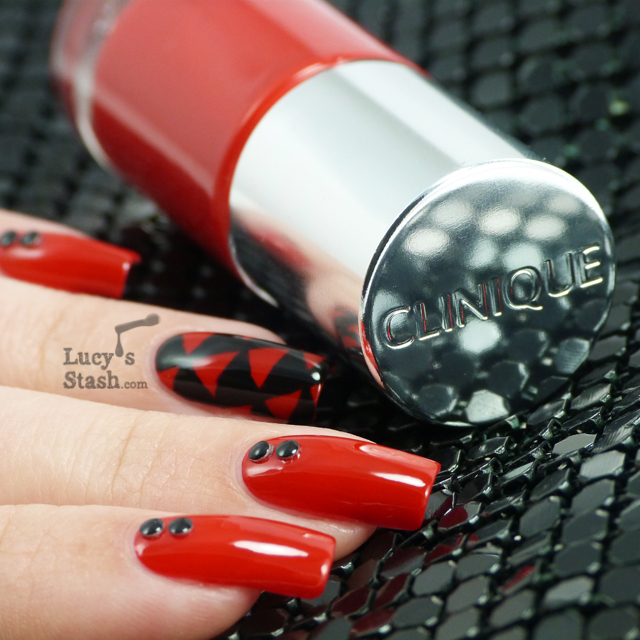 Lucy's Stash - Rock Chick Nail Art design