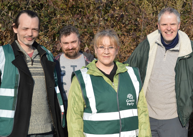 Peterborough Green Party litter pickers