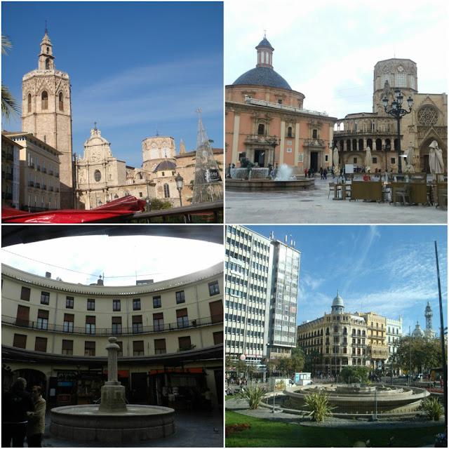Praças principais de Valência (Espanha)