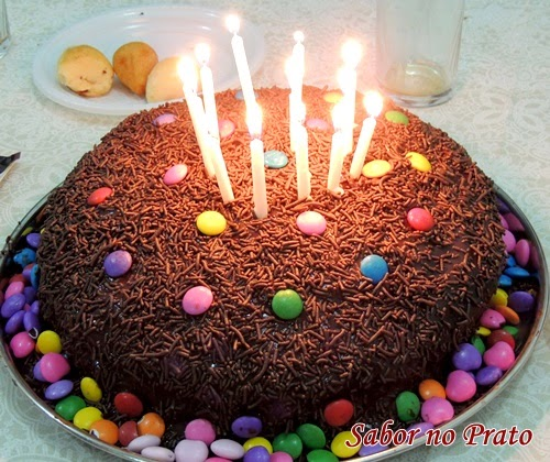 Recheio para bolo de chocolate super fácil de fazer