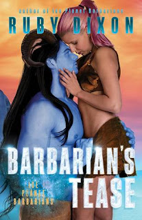 Barbarian's Tease by Ruby Dixon