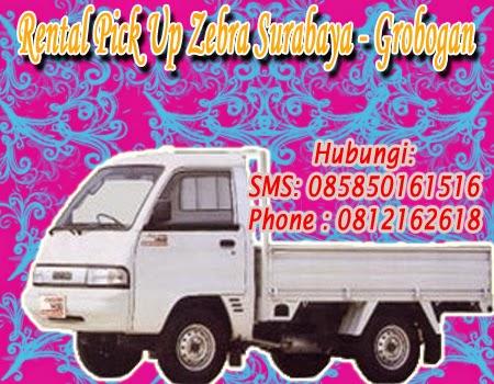 Sewa Pick Up Zebra Surabaya - Grobogan