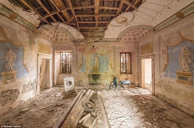 15 bellos edificios abandonados