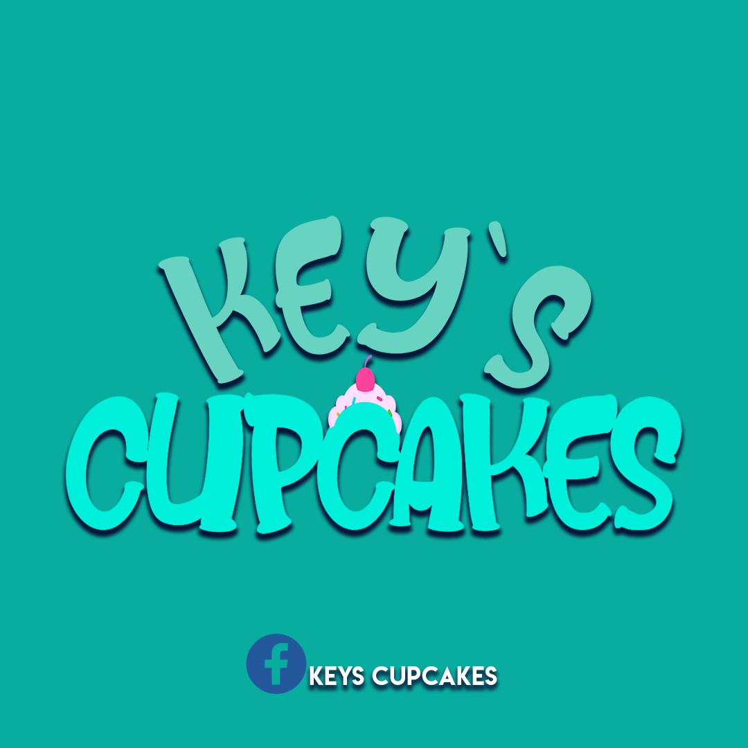logotipo keys cupcakes + aplicaciones