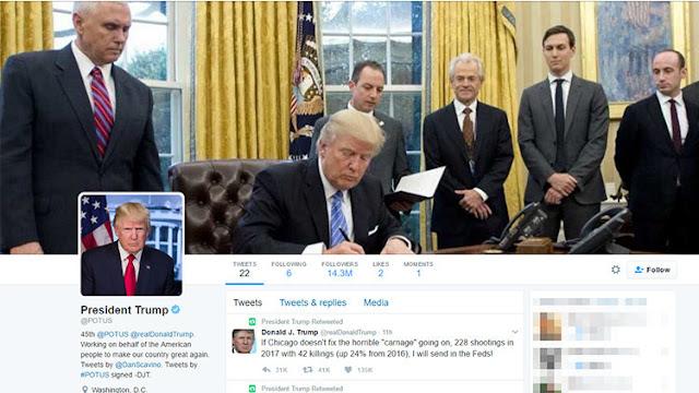 """Un """"hacker"""" le da una lección a Trump acerca de la seguridad de su cuenta de Twitter"""