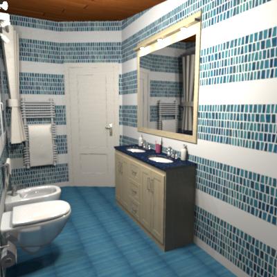 Consigli d 39 arredo arredare un piccolo bagno come una spa - Piastrelle bagno mosaico ...