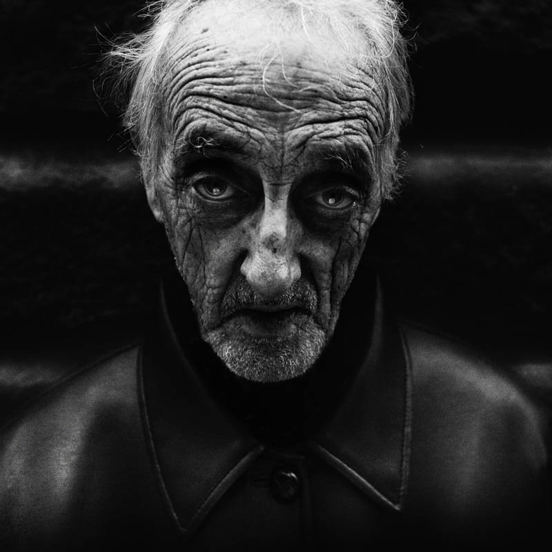 Homeless People Portraits Photography By Lee Jeffries: The Posmaker: Photography: Black And White Portraits Of