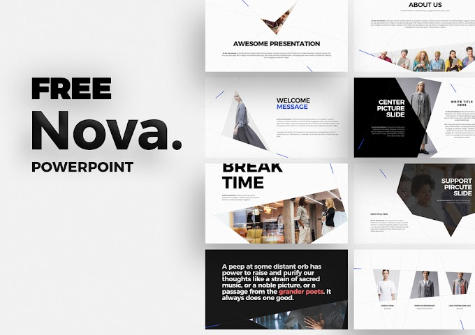 Download Nova Powerpoint Template Free