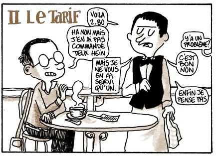 Au Cerceau D Or, 129 Boulevard Sebastopol (2ème) Les Montparnos, 65  Boulevard Pasteur (15ème) Mas vale lembrar que esse preço é do cafezinho  servido no ... 0b516f417c