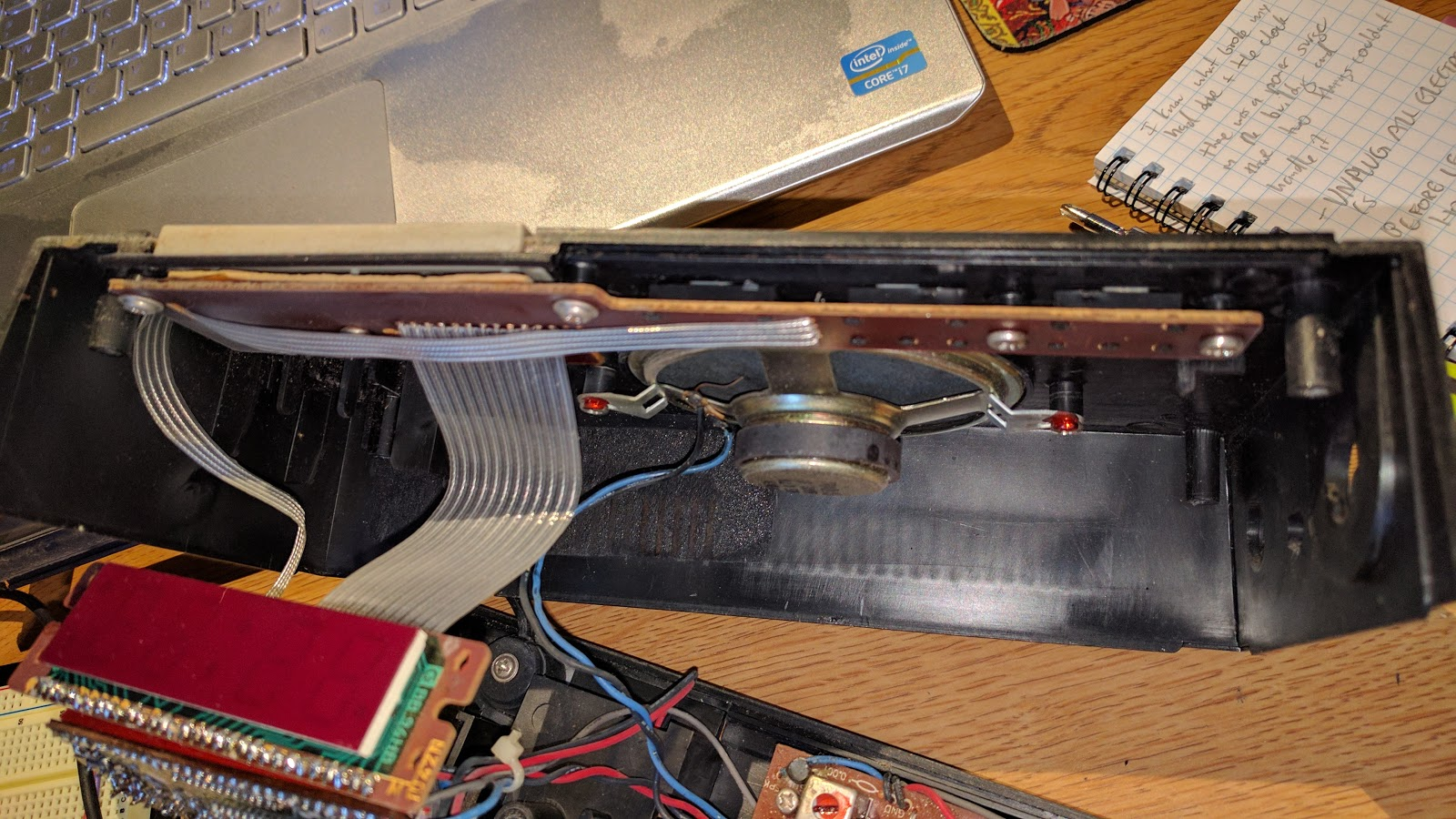 Metal Film Resistor: Inside 1980s Sanyo Radio Alarm Clock
