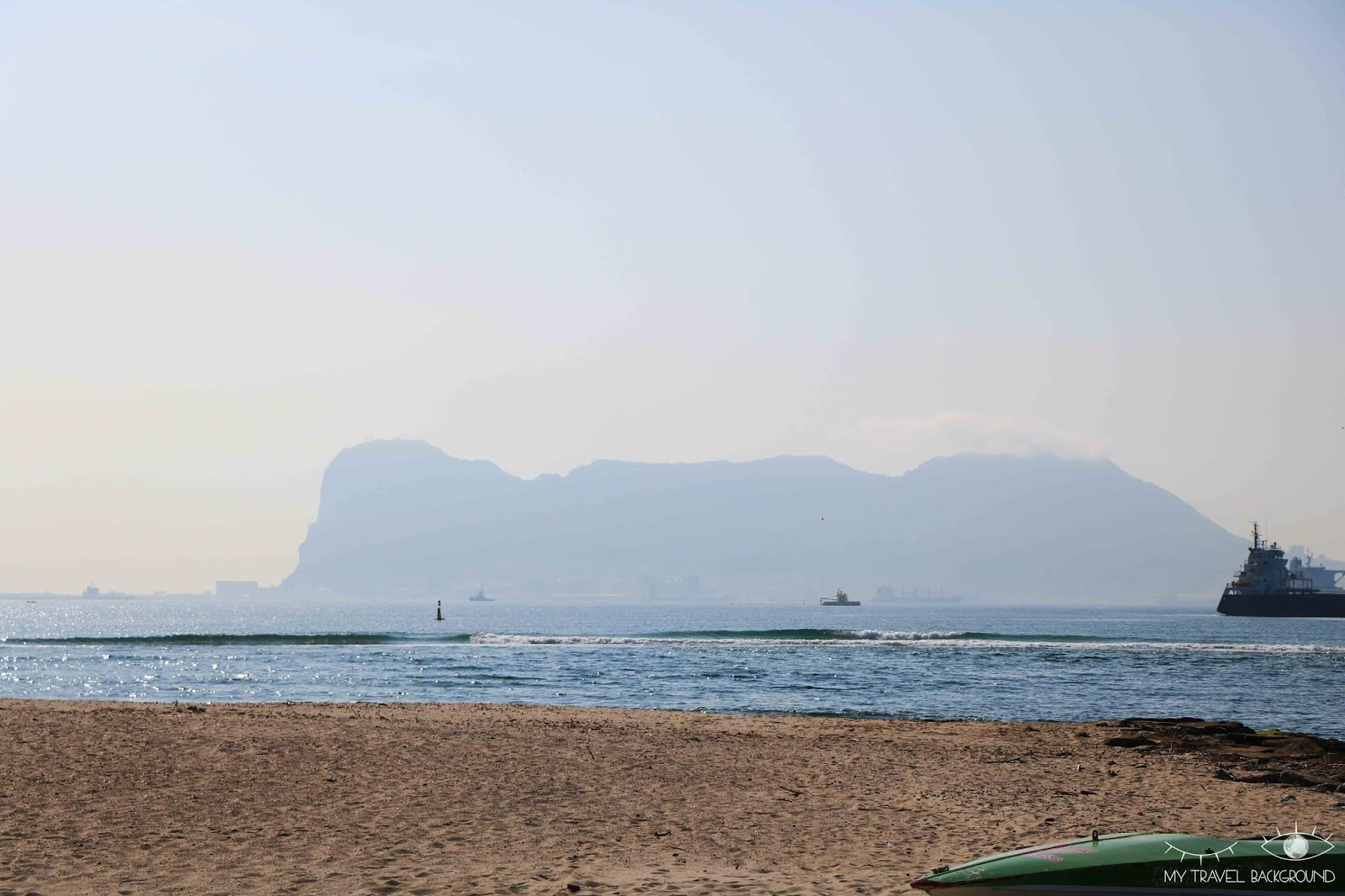 My Travel Background : carte postale de Gibraltar