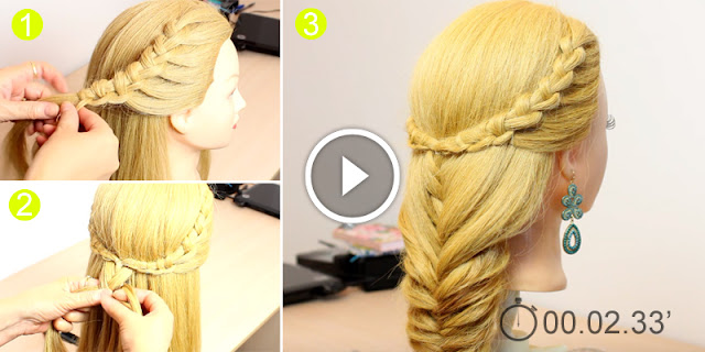 How To Make This Simple And Easy Fishtail Hairstyle
