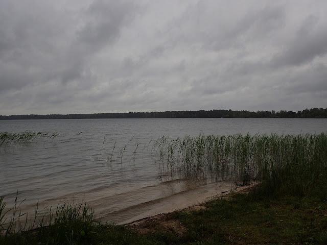 Jezioro Pisoczne, okolice sanatorium w Gajiwce