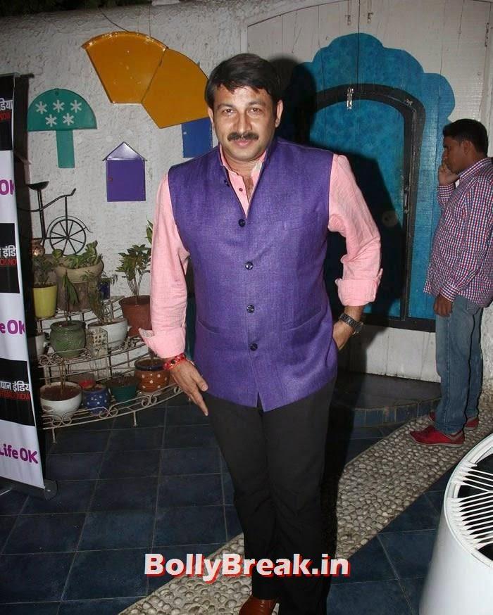 Manoj Tiwari, Pooja Gaur Pics from Life OK's 'Savdhaan India' 1000 Episodes Completion Bash