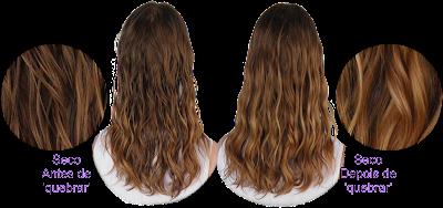 Resenha Chantilly Capilar Maria Molinha Resultado da finalização em cabelo ondulado 2