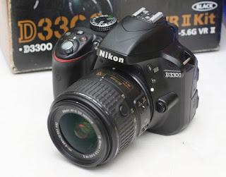 Jual Nikon D3300 Kamera DLSR Bekas
