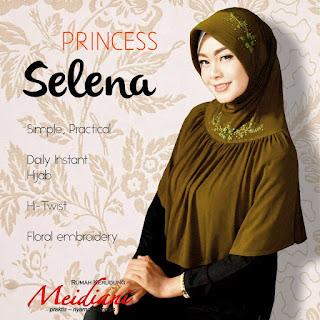 Jilbab Santai Princess Selena