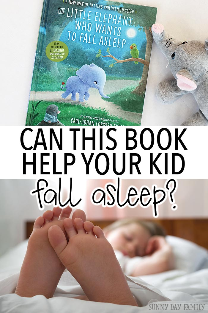 Can this book really help your kid fall asleep? We gave it a try and what we found might surprise you!  Parenting | Sleep | Toddler Sleep | New Mom | Helping Kids Sleep