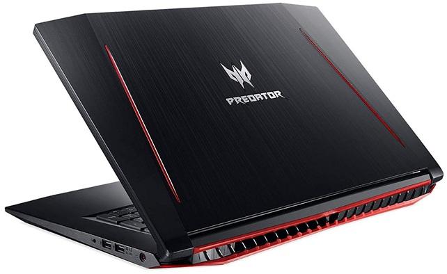 Acer Predator Helios 300 PH317-52-78X3: procesador Core i7 + gráfica GeForce GTX1050 Ti