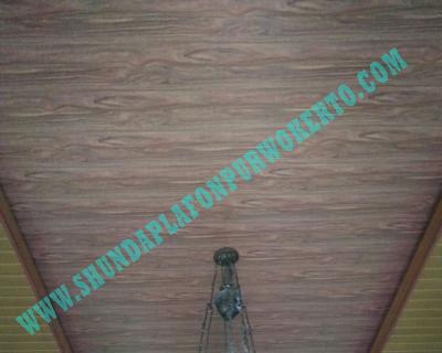 Pemasangan Plafon Pvc Shunda di Rumah Bapak Suharto