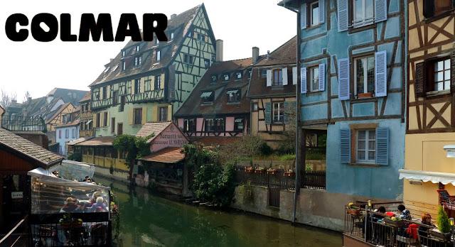 Colmar, uno de los mayores atractivos turísticos de Alsacia