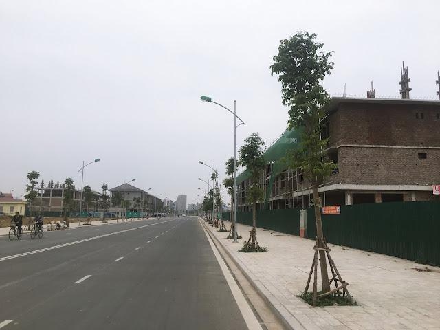 Cập nhật tiến độ biệt thự An Phú Dương Nội