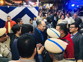 مدير أمن دمياط يتابع الإستفتاء على التعديلات الدستورية بالزرقا والسرو.