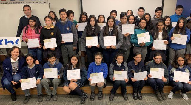 alumnos premiados por la CCHC