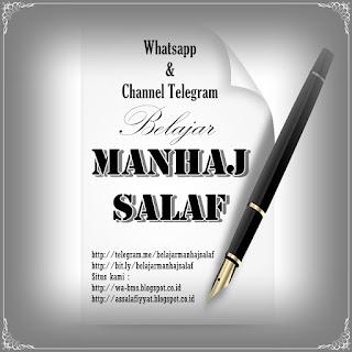 Whatsapp BELAJAR MANHAJ SALAF
