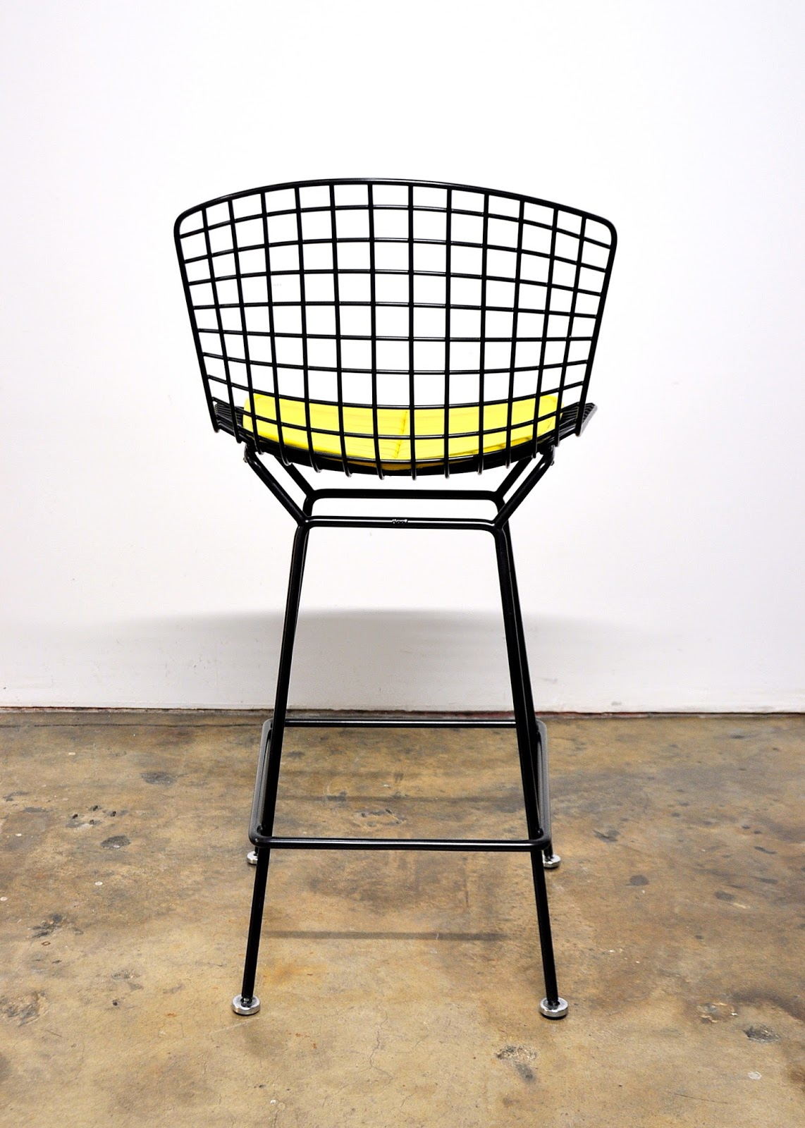 SELECT MODERN: Harry Bertoia for Knoll Black Bar Stool
