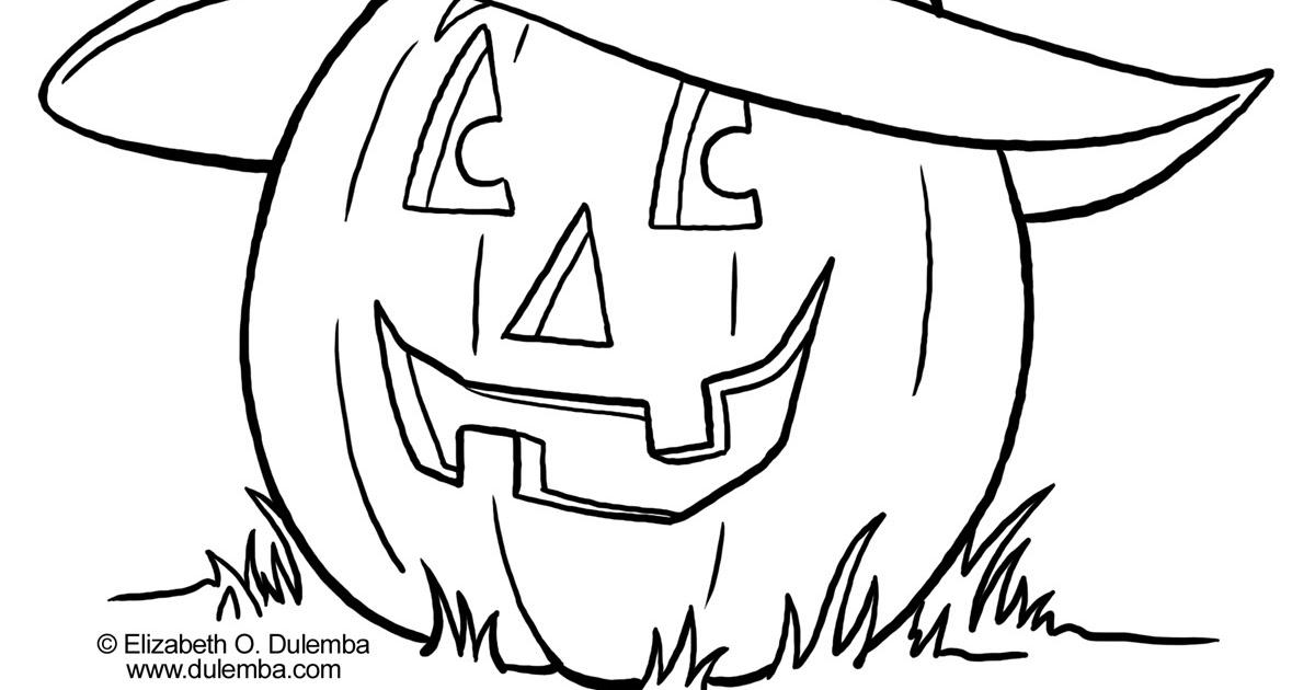 Desenhos Abobora De Halloween Colorir E Pintar Qdb