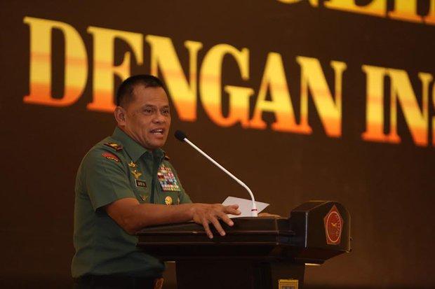 Tamparan Keras Panglima TNI Pada 'Ulama' Yang Suka Ceramah Kasar