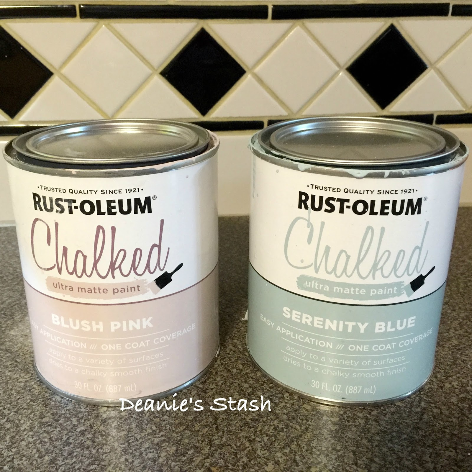 Score Found Rustoleum Chalked Paint & Topcoat More Projects