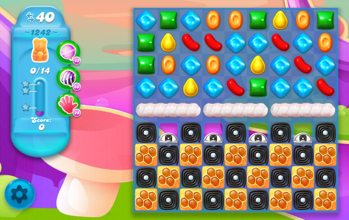 Candy Crush Soda Saga level 1242