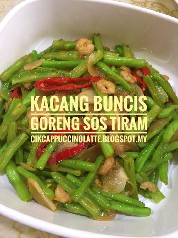 KACANG BUNCIS GORENG SOS TIRAM