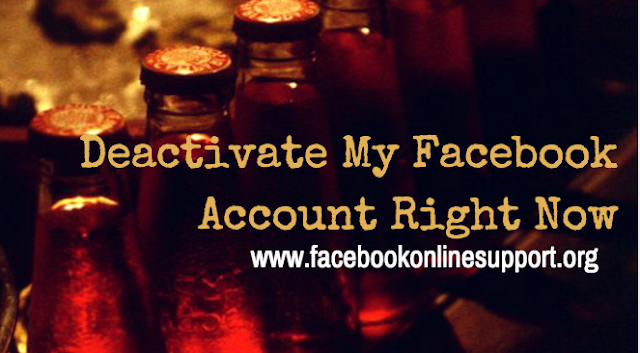 How to Deactivate My Facebook Account Right Now