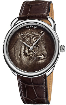 Hermès Arceau Tigre Limited Edition watch