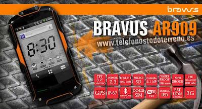 El Smartphone Todoterreno Bravus AR909 1