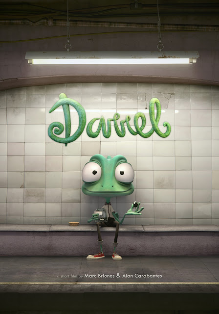 Short Animation Film Darrel by Marc Briones & Alan Carabantes