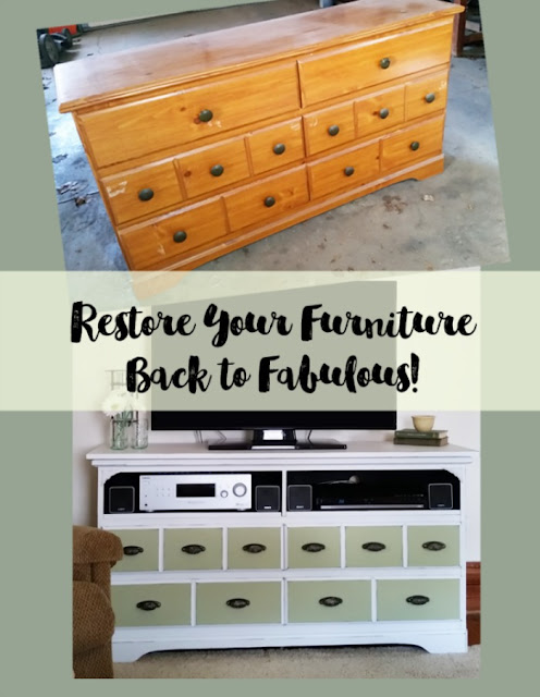 restored dresser
