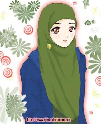 kumpulan kartun muslimah terbaru