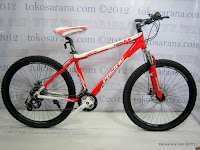 1 Sepeda Gunung Pacific Kodiak 6.8 21 Speed Shimano 26 Inci