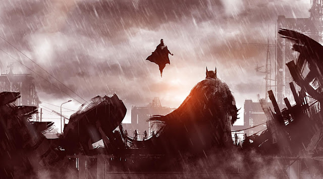 batman vs superman fight image from dawn of justice