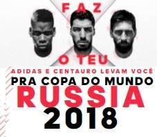 Cadastrar Promoção Adidas Centauro 2018 Faz O Teu Viagem Rússia