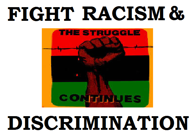 fighting for equality to end racial discrimination The fight for equal rights continues  that ensure racial equality, delaney said i am still reminded every day that there is racial discrimination in.