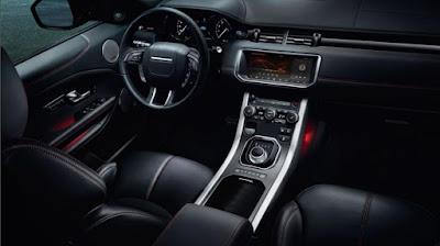 Range Rover Evoque Entertainment and Communications
