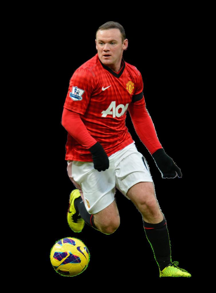 Football Renders: Wayne Rooney render