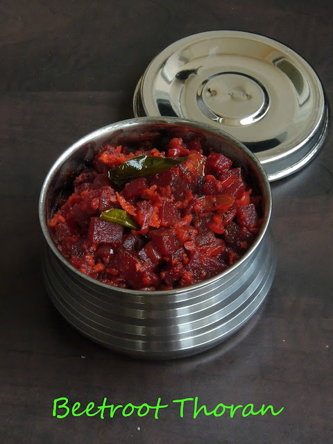 Beetroot thoran
