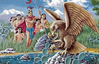mito mexicano el aguila la serpiente y el nopal